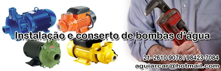 Conserto de Bombas d'água em Niterói