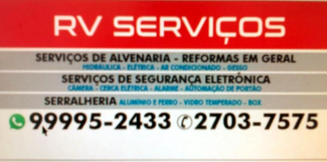 Serviços de alvenaria e reforma em Niteroi RV Serviços Diversos